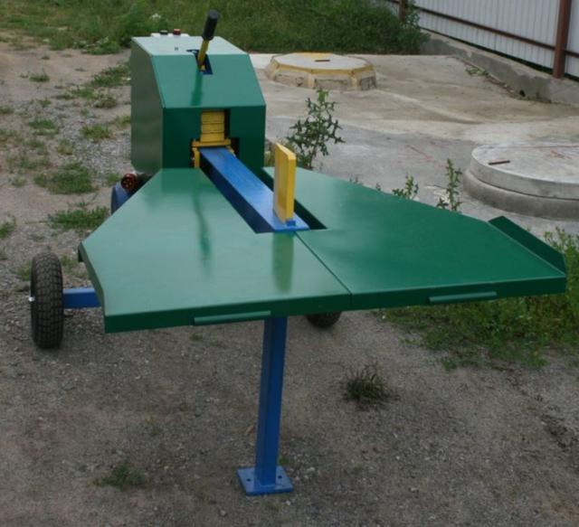 Реечный дровокол 380 В, (двигатель 2,2 кВт.) фото №2