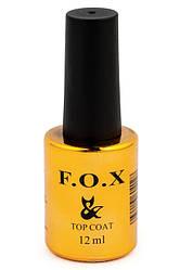 Топовое матовое покрытие для ногтей FOX Top Matt, 12мл
