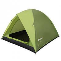 """Палатка трехместная KingCamp """"Family 3"""", зеленая"""