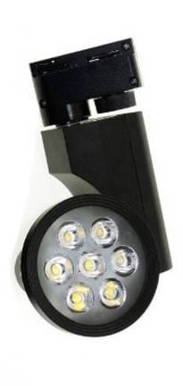 Светодиодный трековый светильник 7W TR7KB-WW 3000К конический черный Код.57961, фото 2