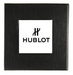 Черная подарочная картонная коробочка HUBLOT для наручных часов