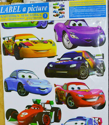 Наклейка, интерьерная Label №3, фото 2