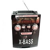 Радиоприемник Kanon KN-62 REC-R, музыкальная колонка радио