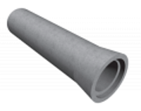 Труба железобетонная ТС 80-25-2+резиновое кольцо