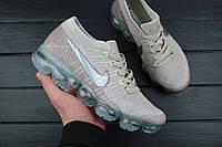 "Кроссовки женские Nike Wmns Air VaporMax Flyknit ""String"" / 849557-202, Найк Вапор Макс (Реплика)"