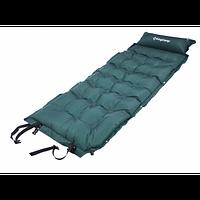 Cамонадувающийся коврик KingCamp Base Camp XL (KM3559) Dark green