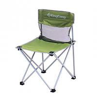 Стул складной Kingcamp «Compact Chair in Steel M» Dark green