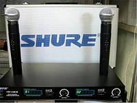 Радиосистема SHURE LX88-3, 2 микрофона SHURE LX-88-III, двухканальная беспроводная высокочастотная система