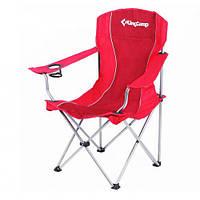 "Кресло складное KingCamp ""Arms Chairin Steel"" Красное"