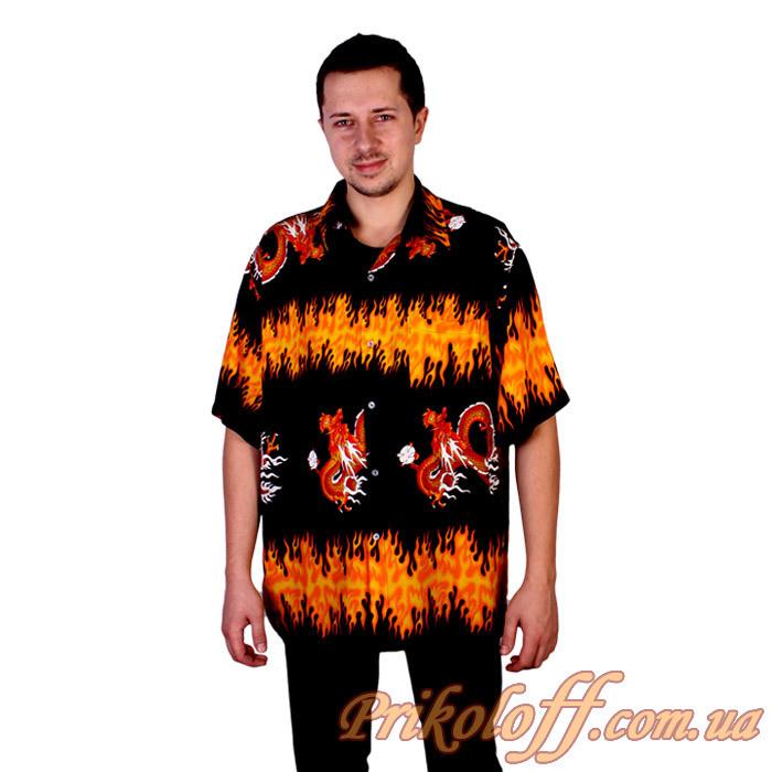 """Рубашка """"Огненный дракон"""""""