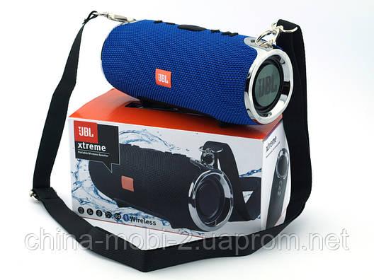 JBL XTREME mini 12 копия, Bluetooth колонка с FM MP3, синяя, фото 2