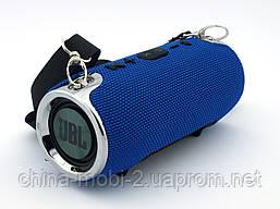 JBL XTREME mini 12 копия, Bluetooth колонка с FM MP3, синяя, фото 3