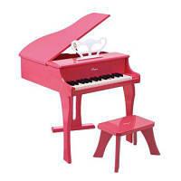 HAPE Розовое фортепиано со стульчиком (E0319)