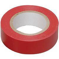 Изолента электротехническая ПВХ 0,13ммх15ммх20м Изолента, Красный