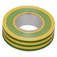 Изолента электротехническая ПВХ 0,13ммх15ммх20м Изолента, Желто-зеленый
