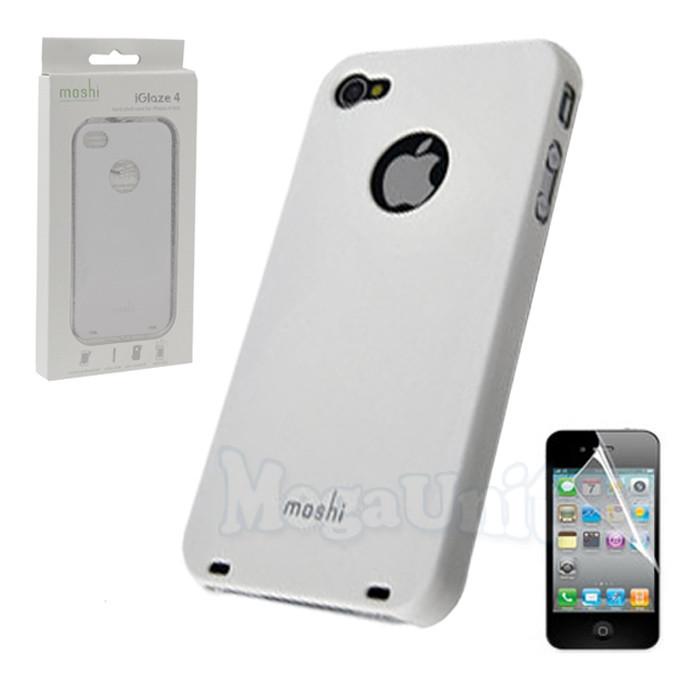 Moshi Пластиковый чехол (+пленка) для Apple iPhone 4/4S