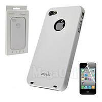 Moshi Пластиковый чехол (+пленка) для Apple iPhone 4/4S, фото 1
