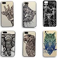 Чехол для iPhone 4/4s или 5/5s Animals