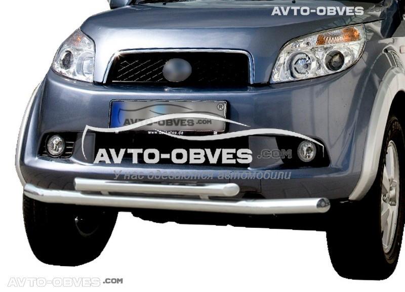 Защита переднего бампера Daihatsu Terios двойной ус (пр. Украина)
