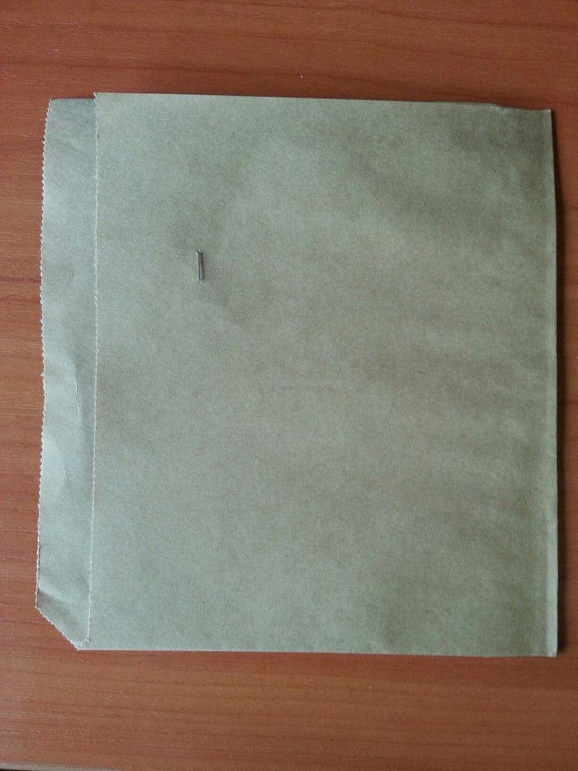 Упаковка бумажная для пиццы бурая 1540