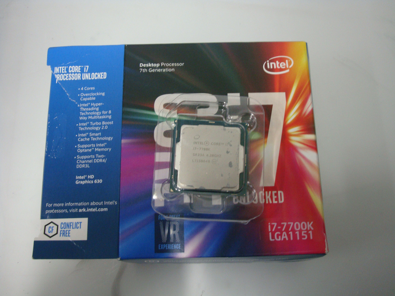 Процессор Intel Core i7-7700K 4.2GHz/8GT/s/8MB s1151