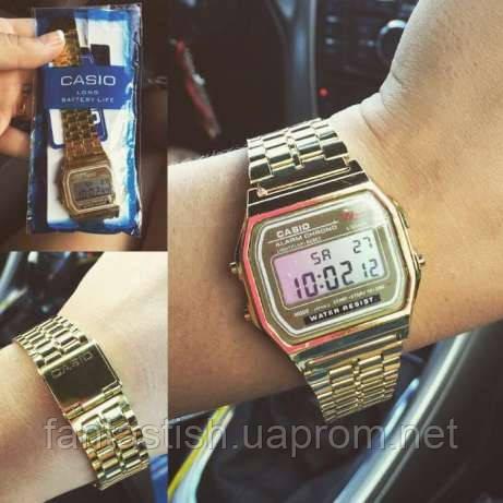 4a1746533a84 Часы Casio Montana (Gold, Silver)