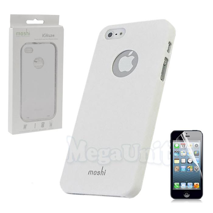 Moshi Пластиковый чехол (+пленка) для Apple iPhone 5/5S/SE