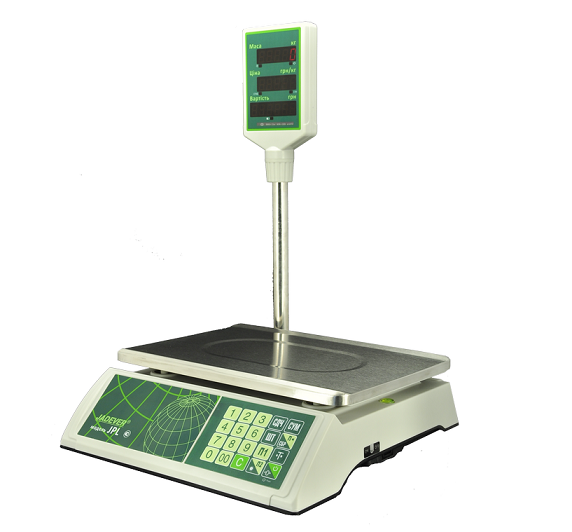 Весы торговые электронные – виды и предназначение