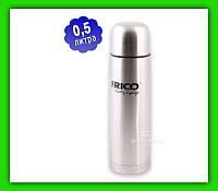 Термос Frico FRU 212 0.5 л с чехлом, фото 1