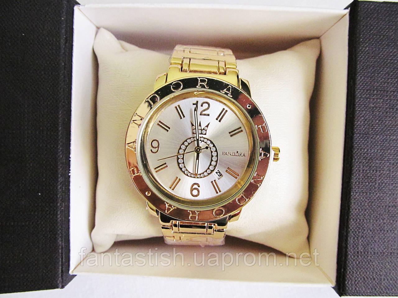 Часы Пандора наручные женские часы золото+серебристый циферблат - Магазин  красоты и удовольствий