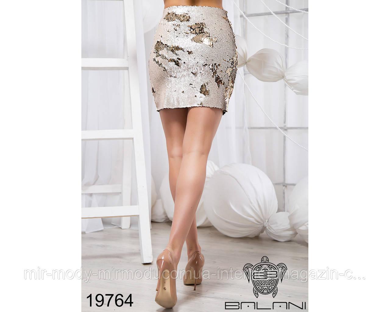 Укороченная юбка - 19764 бн