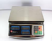 Весы ACS 50kg/5g MS 968  Domotec 6V Метал, Весы торговые, Весы для взвешивания 50 кг, Электроные весы