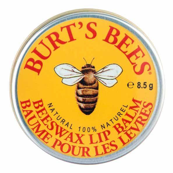 Бальзам для губ с пчелиным воском Burt's Bees Beeswax Lip Balm