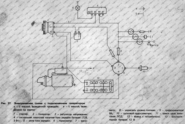 балканкар электрическая схема