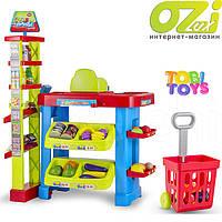 """Детский игровой набор """"Супермаркет Green"""" марки Tobi Toys"""
