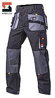 Брюки рабочие SteelUZ с светло-серой отделкой, фото 1