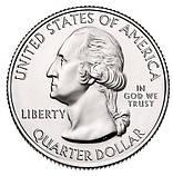 США 25 центов 2018, 41 Парк, Национальный парк Пикчерд Рокс, фото 2