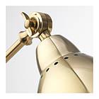 Настольная лампа IKEA BAROMETER рабочая желтая медь 003.580.37, фото 3
