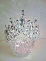 Корона, диадема, высота 11  см., фото 1
