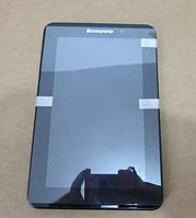 Оригинальный дисплей (модуль) + тачскрин (сенсор) с рамкой для Lenovo LePad | IdeaPad A1-07 (черный цвет), фото 1