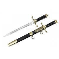 Нож сувенирный Кортик Grand Way 12012 сталь клинка 420, цвет рукоятки Черный