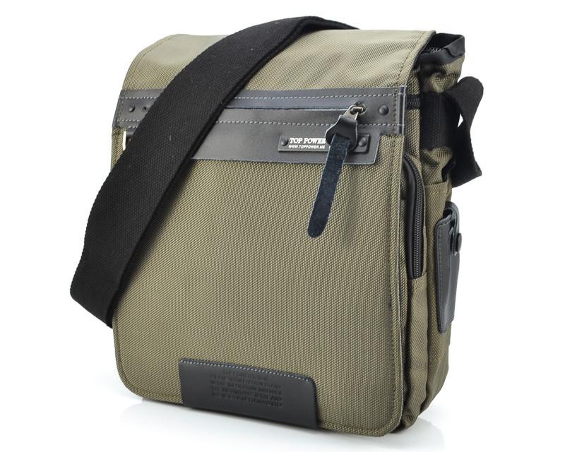 Тканинна сумка через плече Top Power 640 Khaki