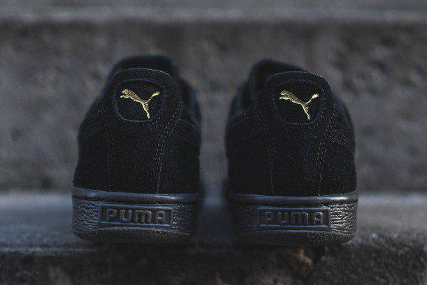 Мужские Puma Suede Classic Mono Iced Черный , фото 2