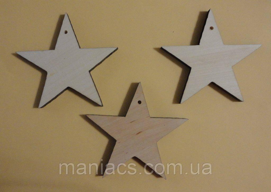 Деревянная игрушка-подвеска Звезда