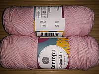 Кartopu cotton mix- 2194 светло розовый