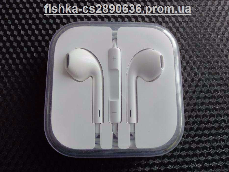 НАУШНИКИ для iPhone Apple EarPods копия Дропшиппинг Опт - Интернет магазин