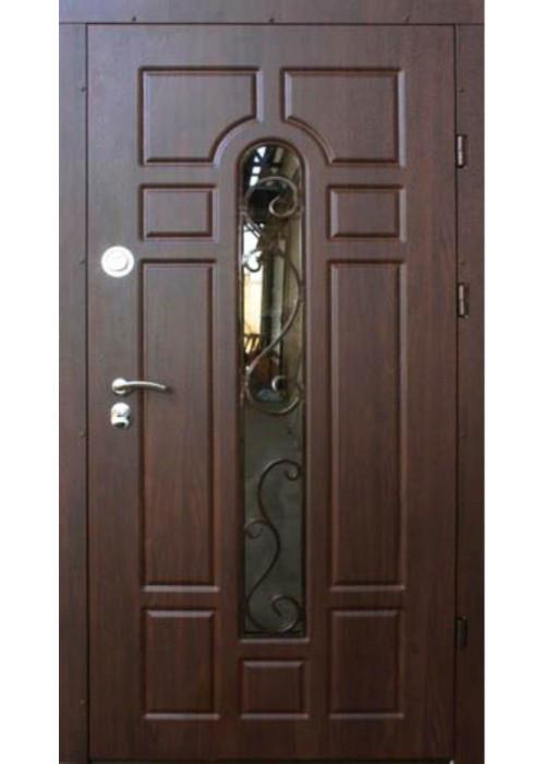 Двері вхідні броньовані з ковкою 86х205 безкоштовна доставка