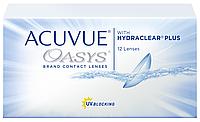 Линзы контактные на 2 недели упаковка (6 шт) Acuvue, Oasys