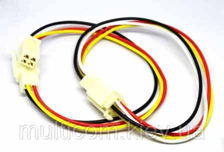01-16-053. Разъём питания 4-х контактный (CAR4), с кабелем