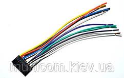 01-07-36. Разъём автомагнитолы Sony 18 контактов, с кабелем